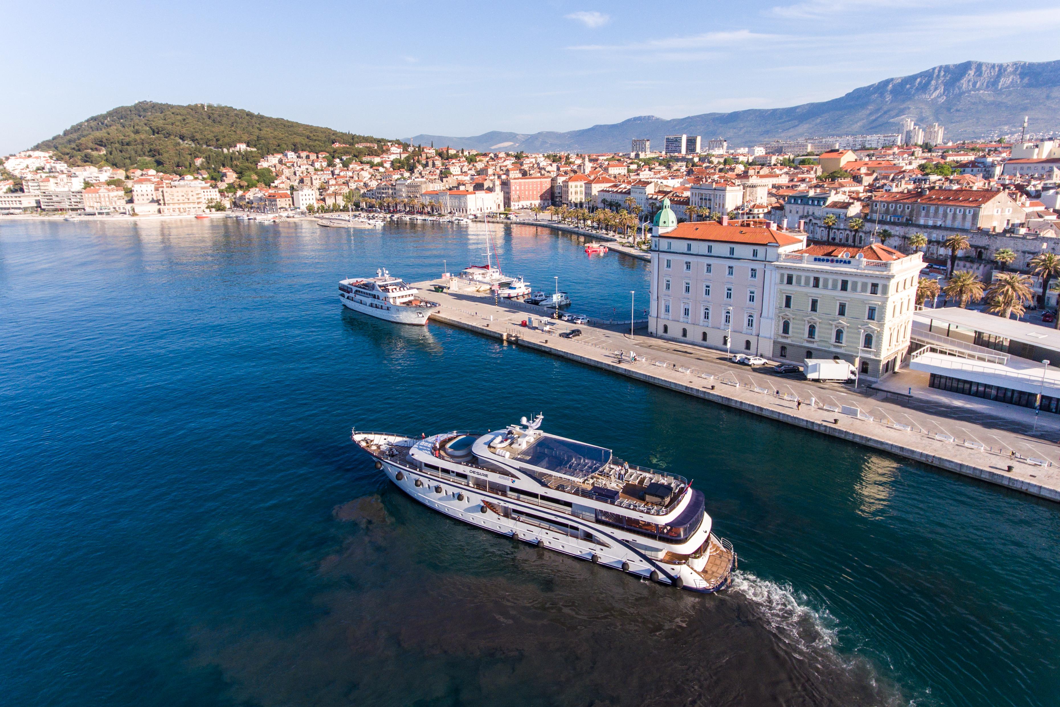 Chorvátsko Jachta